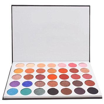 Eye Shadow, Alonea Eye Shadow Makeup Cosmetic Shimmer Matte Eyeshadow Palette 35 Colors