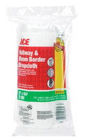 Heavy Weight Plastic Hallway and Room Border Drop Cloth W x L (Case of 12)