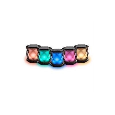 Ihome - Portable Bluetooth Speaker - Translucent Gray