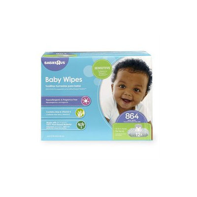 Babies R Us Sensitive Baby Wipes - 864 Count