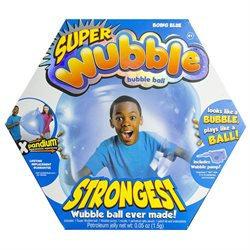 Wubble Bubble Ball with Pump - Blue