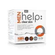 Works with Water Men's Help: Clear Skin Soluble Supplement (14 x 3.5g)
