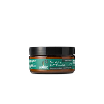 Sukin Super Greens Detoxifying Clay Masque 100ml