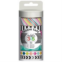 Create 365 Washi Tape 7/Pkg-Brights
