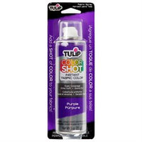 Tulip Color Shot Instant Fabric Color Spray 3Oz-Purple