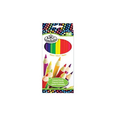 Neon Colored Pencils-12/Pkg