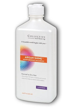 Argan Shine Lavender Shampoo Lavender Collective Wellbeing 14.5 oz Liquid