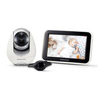 Samsung BabyView Dual Mode Digital Video Baby Camera and Monitor with Bluetooth Watch in White