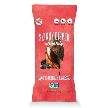 Wild Things BWA15349 0.46 oz Mini Skinny Dipped Almonds in Dark Chocolate Espresso - Pack of 48