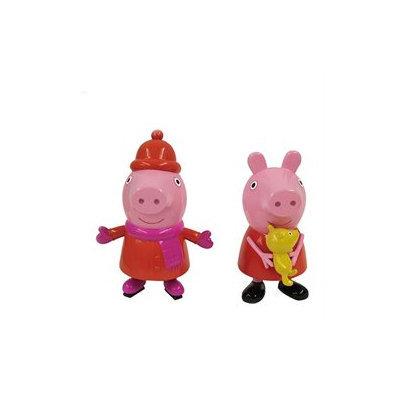 2 Piece Peppa Pig Blow Mold Ornament Set