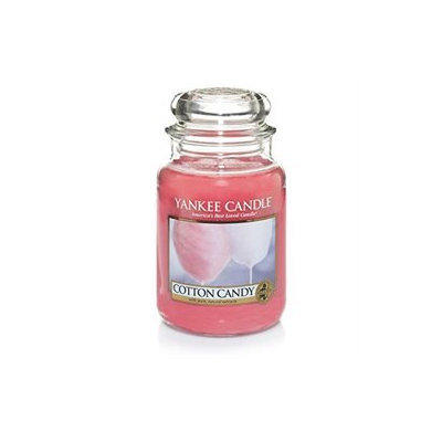 Yankee Candle Cotton Candy-22oz. Jar, Pink
