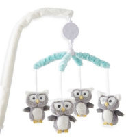 Levtex® Baby Micah Owl Musical Mobile in Blue/Grey