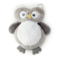 Levtex® Baby Micah Plush Owl Toy in Grey/Blue