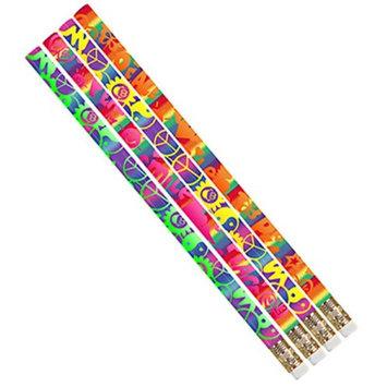 Musgrave Pencil Co Inc MUS2496D Peace Pencil 12Pk