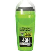Skinceuticals L'Oréal Paris Men Expert Clean Power 48H Roll-on Anti-Perspirant (50ml)