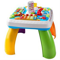 Fisher-Price Laugh N Learn Puppy and Pals Learning Table, Multicolored