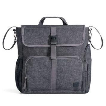 Diaper Dude Convertible Backpack Black Textured