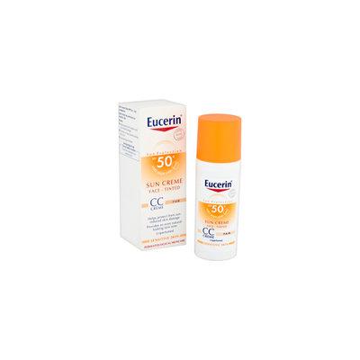 Eucerin Sun Protection Face Sun Crème Tinted SPF 50+ 50ml