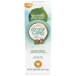 Seventh Generation 4oz Diaper Cream Tube - Coconut