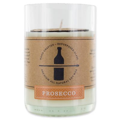 Prosecco 11 oz. Repurposed Glass Soy Wax Candle