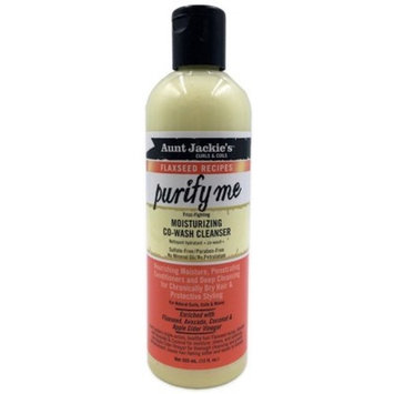 Aunt Jackie's Flaxseed Recipes Purify Me Moisturizing Co-Wash Cleanser - 12 fl oz