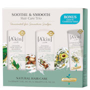 A'kin A kin Soothe & Smooth Hair Trio with Bonus Leave in Conditioner