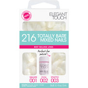 Elegant Touch Totally Bare Nails Bumper Kit - Regular Mixed Set (Stiletto/Oval/Square)