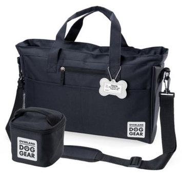 Overland Travelware Overland Dog Gear Day Away Tote Bag, Black