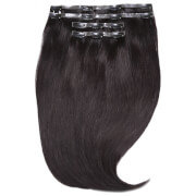 Beauty Works Jen Atkin Invisi-Clip-In Hair Extensions 18 - Natural Black 1A