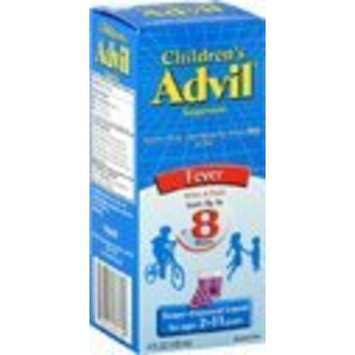 Advil Childrens Fever Reducer/Pain Reliever 100 mg Grape-Flavored Liquid, 4 oz (Pack of 3)