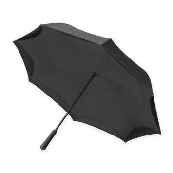Emson Women's Betterbrella Better Umbrella - Folds Up To Keep Floors Dry - Black