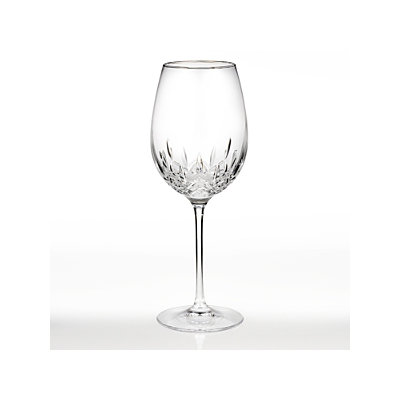 Waterford Crystal Lismore Essence Platinum Red Wine Glass
