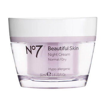 Boots No7 Beautiful Skin Night Cream Normal/Dry - 1.6oz