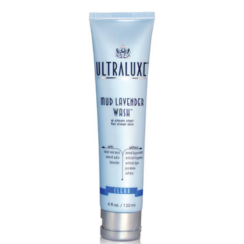 UltraLuxe Mud Lavender Wash Clear 4 oz
