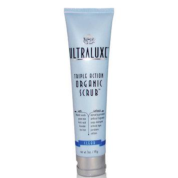 UltraLuxe Organic Triple Action Scrub Clear 3 oz