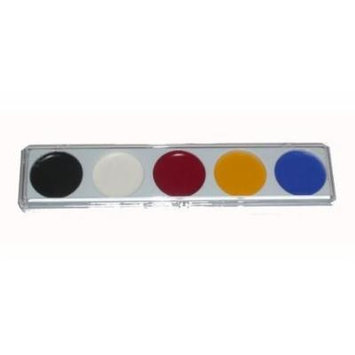 Mehron 405 5 Color Water Base Make Up Palette