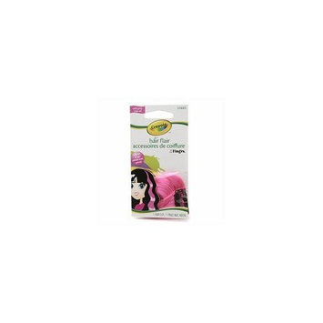 Crayola Hair Flair Multi Color Hair Clip Wild Pink