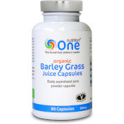 One Nutrition Barley Grass Juice Capsules - 90 Capsules (500mg)