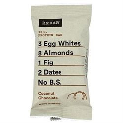 Rxbar Coconut Chocolate Protein Bar, 1.83 Ounce. (Pack of 12)