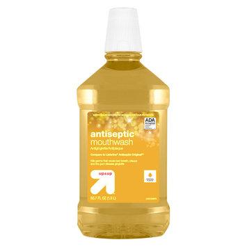 Vijon Antiseptic Mouthwash - Original Flavor - 1.5 L - up & up, Gold