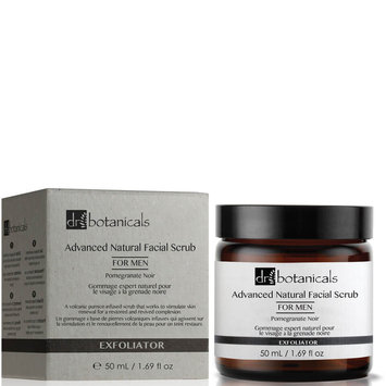 Dr Botanicals Pomegranate Noir Advanced Natural Facial Scrub For Men 50ml