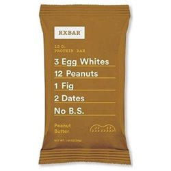 Rxbar Peanut Butter Protein Bar, 1.83 Ounce. (Pack of 12)