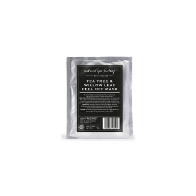 Natural Spa Factory Tea Tree and Willow Leaf Peel-Off Face Mask