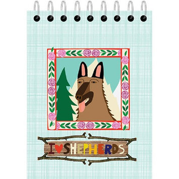German Shepherd Small Notepad by Ecojot