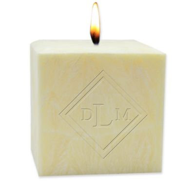 Carved Solutions Modern Diamond Citrus Escape 4-Inch Palm Candle