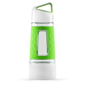 Fruition Fruit-Infusing Water Bottle in Lime