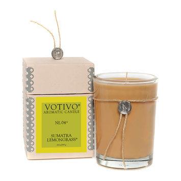 Votivo Aromatic Candle 6.8 oz Sumatra Lemongrass 193 g No. 04A