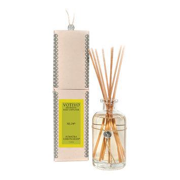 Votivo Aromatic Reed Diffuser 7.3 oz Sumatra Lemongrass 216 ml No. 04R