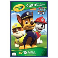 Crayola Paw Patrol Giant Colouring Pages