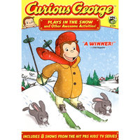 Curious George: Plays in the Snow and Other Awesome Activities (dvd video)